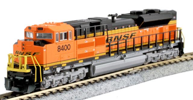 Kato N Scale SD70ACe Locomotive Burlington BNSF #8400 DC DCC Ready 1768523