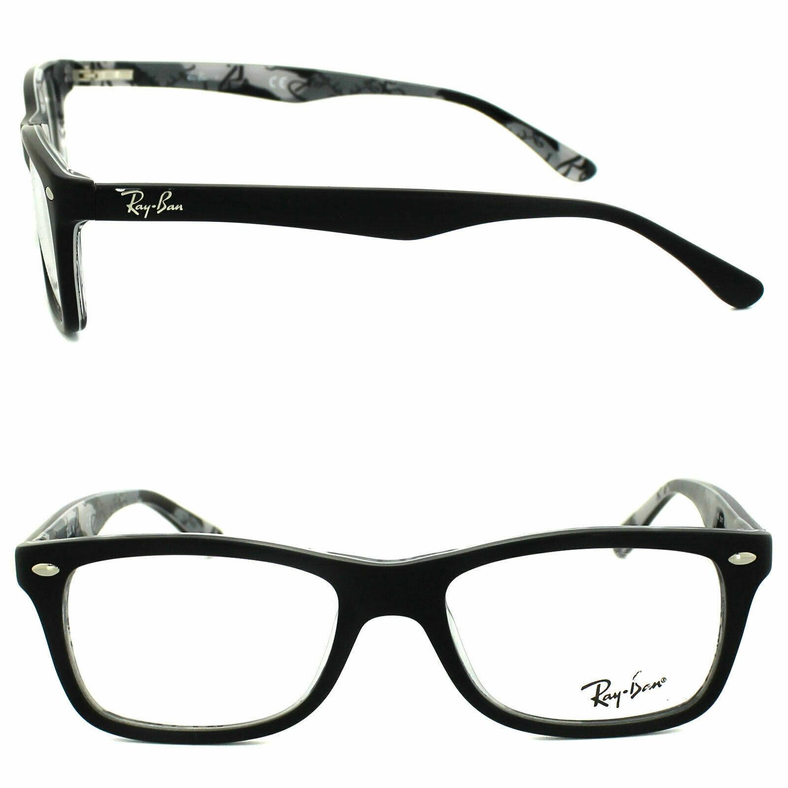 Ray Ban RB 5228 Farbe 5405 Camouflage black Brille Brillen Gestell Fassung Neu