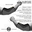 FREE SHIPPING HEAVY DUTY ELBOW SLEEVES 7MM SUPPORTS GYM POWER WEIGHT LIFTING