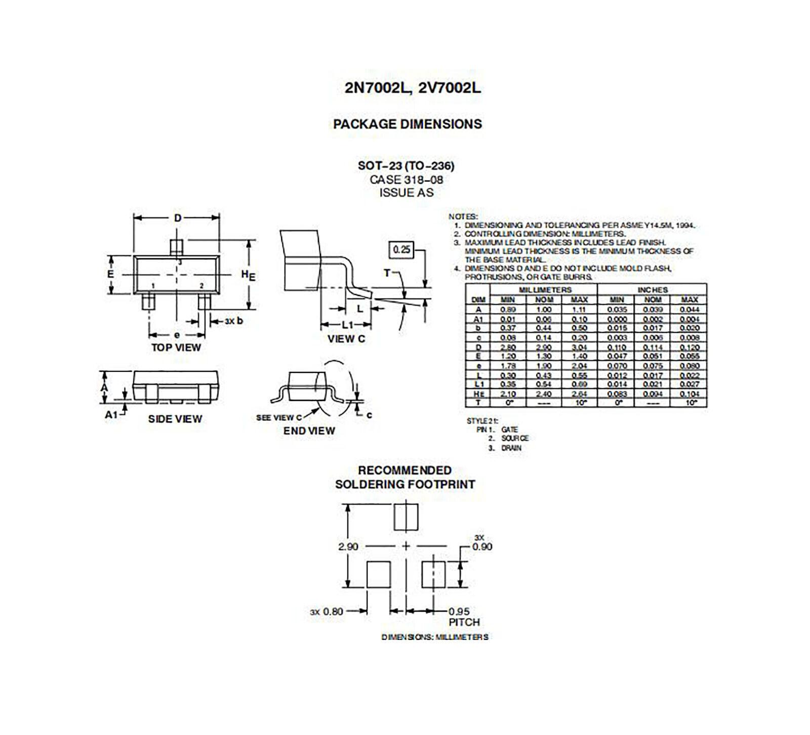 PMBF170  NEXPERIA  MOSFET N-Channel 60V 0,3A 830mW SOT23   NEW  #BP 10 pcs