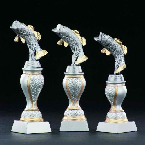 Angler-Pokale mit Wunschgravur (Einzelpokal oder komplette komplette komplette 3er-Serie 33672) 622509