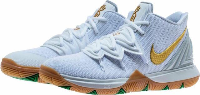 Nike Kyrie 5 GS Irish White Metallic