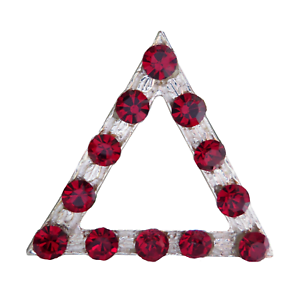 Triangle With 12 Lights Nickel-Plated Symbol For Orange Order Collarette