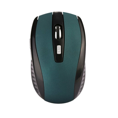 2.4GHz 6D 1000DPI USB Wireless Optical Gaming Mouse Mice For Laptop Desktop PC