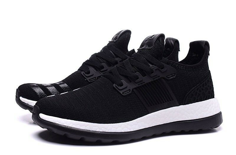 Adidas Pure Boost ZG Limited Edition Running Shoes AQ6787 Black Free Shipping