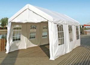 Kunststoff Pavillon Planen : Festzelt partyzelt pavillon gartenzelt garten zelt palma m