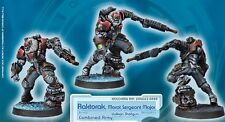 INFINITY - Raktorak, Morat Sergeant Major (Armée Combinée) *Corvus Belli*
