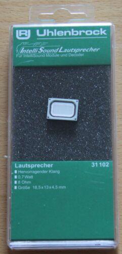 Uhlenbrock 31102 Altoparlante 8ohm 18,5x13x4,5xmm