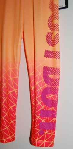 NWT Nike Toddler Girls Orange Ombre JUST DO IT Dri-Fit Sport Leggings  2T 3T 4T