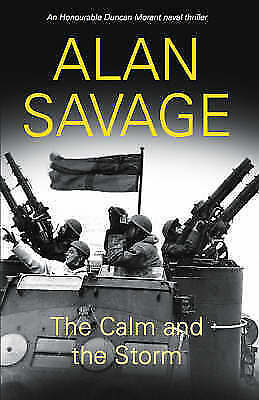 Savage, Alan, The Calm and the Storm (Naval), Very Good Book