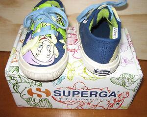 Scarpe-Superga-Cucciolo-Disney-2750-numero-22-con-scatolo