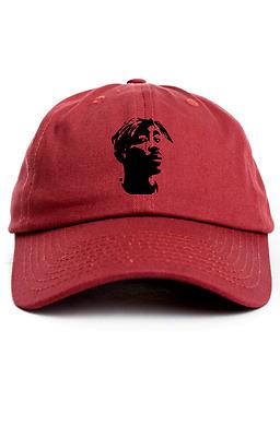Lancer Evolution X Custom Unstructured Dad Hat Headwear Cap-Black w// Red