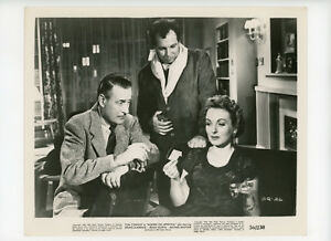Details about MURDER ON APPROVAL Original Movie Still 8x10 Delphi Lawrence  T Conway 1956 10577