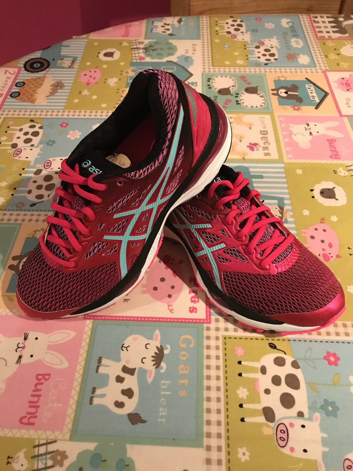Asics Womens Cumulus 18 Running shoes Pink