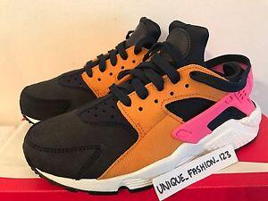 Run 5 Black Air Huarache Us Pink 38 Nike Uk Ossidiana Wmns Sunset 5 7 5 Prm PtwaEq