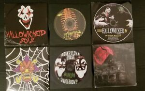 Insane-Clown-Posse-Hallowicked-CD-Lot-Set-twiztid-horrorcore-esham-dark-lotus