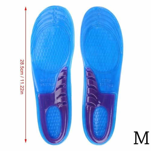 DE Schuheinlagen Fußbett Gel Einlegesohle orthopädische Schuh Einlagen 35-47 NEU