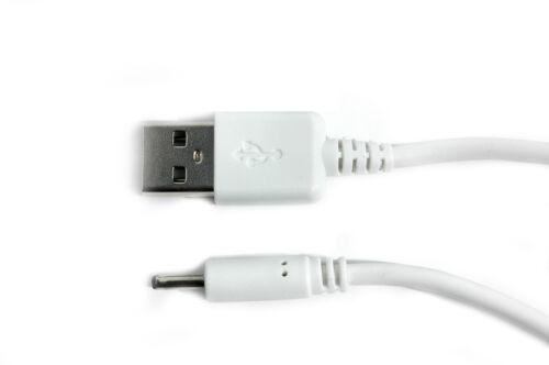 90 cm USB Cavo Di Alimentazione Caricabatterie Bianco Per ALLWINNER A10//A13//A23 Tablet PC