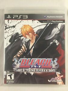 Bleach-Soul-Resurreccion-PS3-Playstation-3-COMPLETE-tested-Works