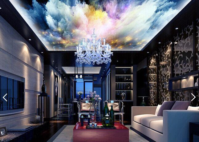 3D Fantasy Wolken 488 Fototapeten Wandbild Fototapete BildTapete DE Kyra