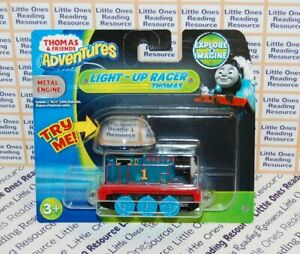 Thomas-Friends-Adventures-LIGHT-UP-RACER-THOMAS-Train-Engine-Fisher-Price-DXV21