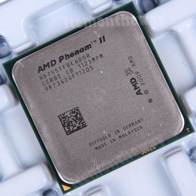 Original AMD Phenom II X6 1055T HDT55TFBK6DGR Prozessor 2.8 GHz AM3 Sockel