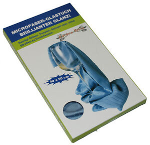 Copieux 8x Microfibre Chiffon à Lustrer Glastuch Micro Fibre Fenstertuch Glastücher Spiegeltuch-afficher Le Titre D'origine