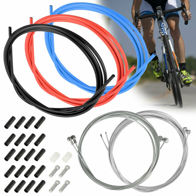 Front /& Rear Inner Outer Wire Gear Brake Cable Set Mountain Bike Bicycle Cycling
