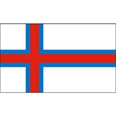 Fahne Flagge Faroer 100 x 150 cm Bootsflagge Premiumqualität