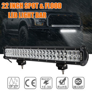 22inch-CREE-LED-Light-Bar-Spot-Flood-Driving-Lamp-For-Offroad-4WD-4x4-Truck-AU