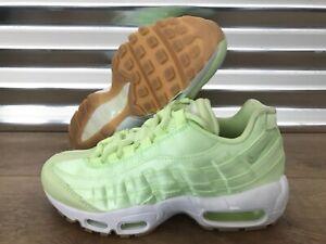 Details about Nike Air Max 95 WQS Shoes Liquid Lime Green Gum Brown Womens SZ ( 919491 300 )