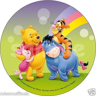 Essbar Tortendeko Winnie the Pooh Tortenaufleger NEU backen Party-Deko Puuh Bär