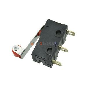 10Pcs-KW12-3-Micro-Roller-Lever-Arm-Normally-Open-Close-Limit-Switch