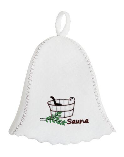Sauna Casquette Saunahut Capuchon Chapeau Bonnet pour sauna Banja Schapka Sauna Capuchon баня Top