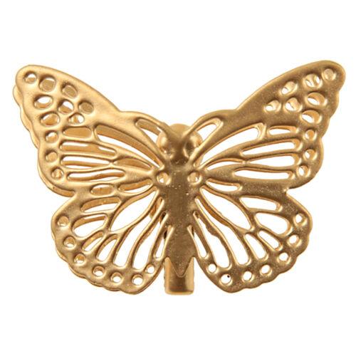 SALE Klammern Schmetterling 4 Stk 3,5 cm Metall Wäscheklammern Gastgeschenk