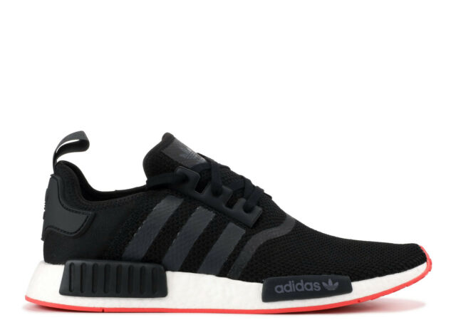 5137d38601 Adidas NMD_R1 BLACK CQ2413 BOOST SNEAKERS MEN SHOES RUNNING 100%AUTHENTIC  US 🔥