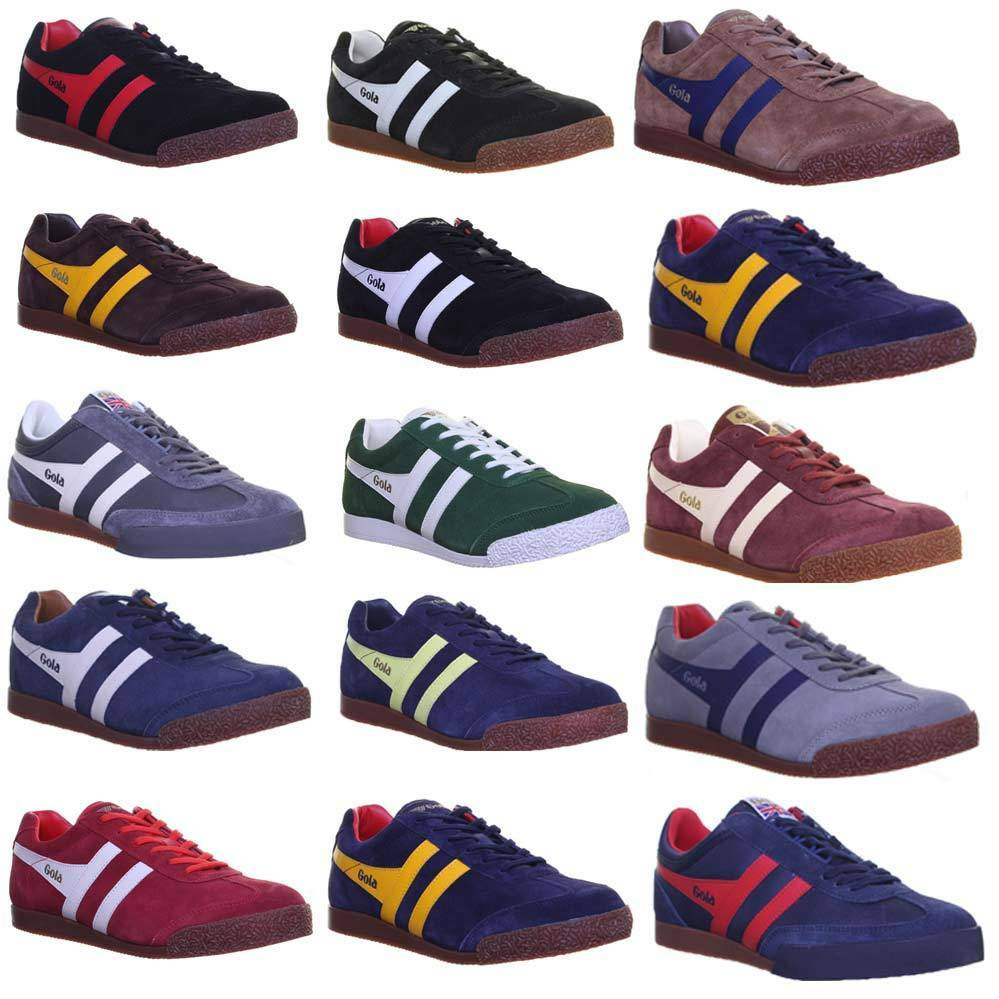 Gola Classics Harrier Mens  Leather Trainers Size