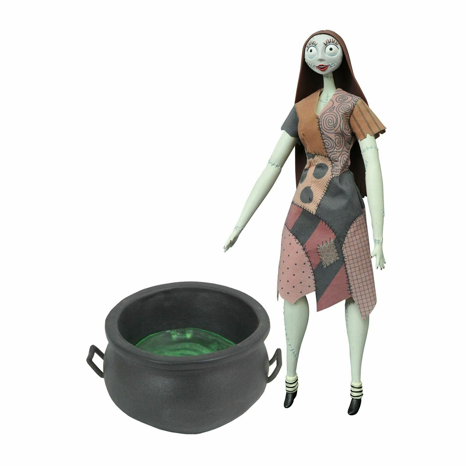 Diamond Select Toys Nightmare Before Christmas Sally Boiler Deluxe Coffin Doll