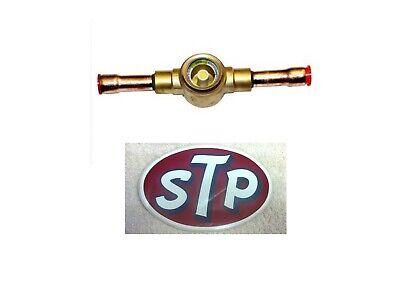 "R22a Part 3476 Sight Glass W/moisture Indication 3/8"" Sweat R410a Stp Sticker"