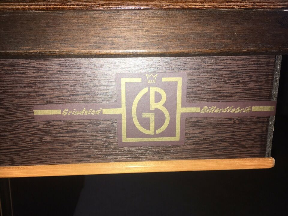 Billardbord, Grindsted billard
