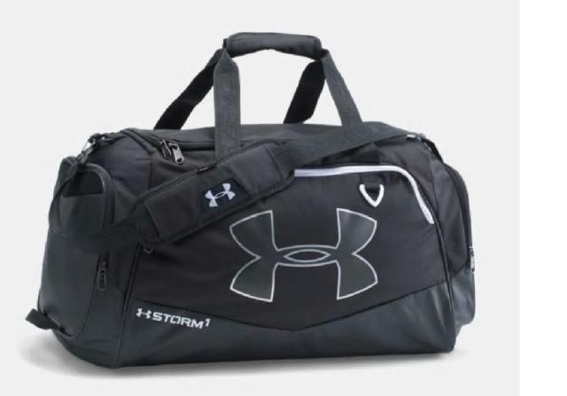 "Under Armour Storm Undeniable Medium Gym Duffle II Bag Black 13x12x11/"" 1263967"
