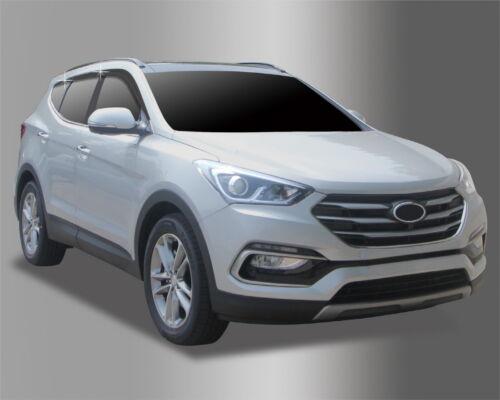 New Smoke Vent Sun Visors  4Pcs D063 For Hyundai Santa Fe DM 2016 Present