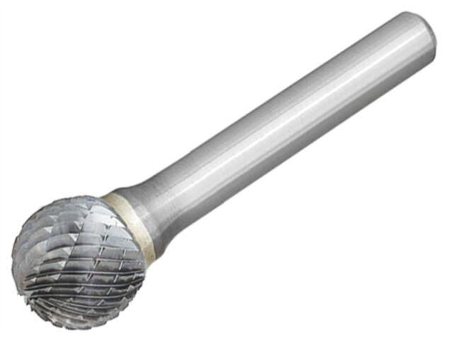 Dormer 6.3mm Solid Carbide Rotary Burr – P807 Ball Nose 3mm shaft