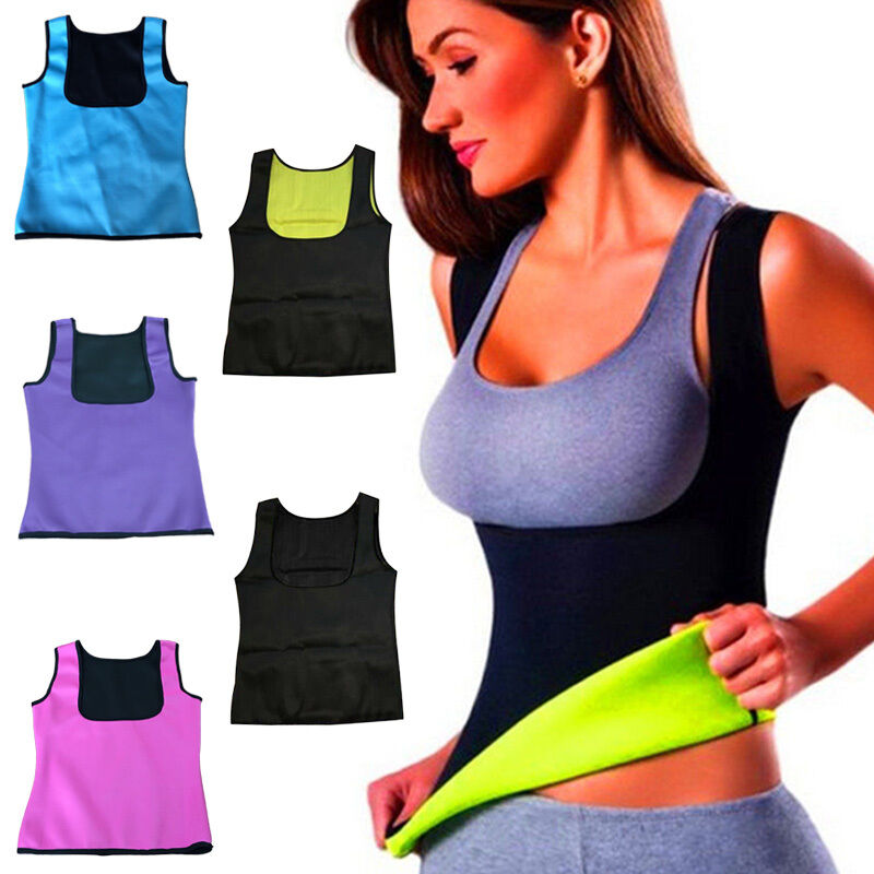 2017 Women Neoprene Body Shaper Slimming Waist Slim Belt ...