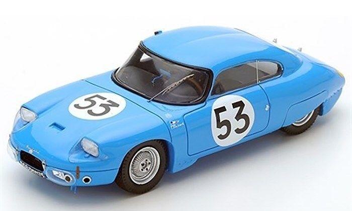 SPARK 1 43 CD Panhard-Le Mans 1962 -  53 Guilhaudin Bertaut