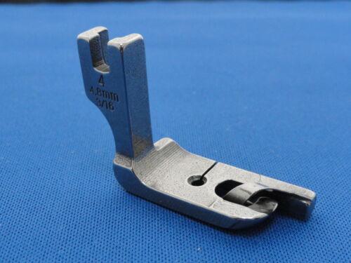 """JUKI Industrial Sewing Machine Hemming Hem Foot 4.8 mm 3//16/"""" WORKS ON BROTHER"""