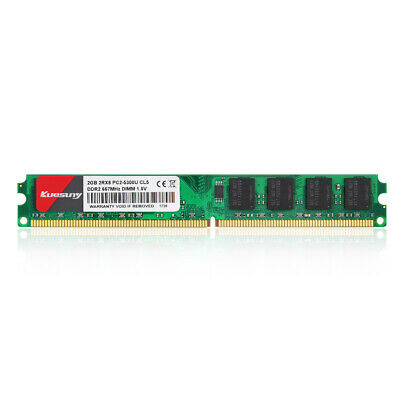 2GB Lot For Intel DDR2 PC2-6400U 800MHz 240PIN DIMM RAM Desktop Memory PC6400 @3
