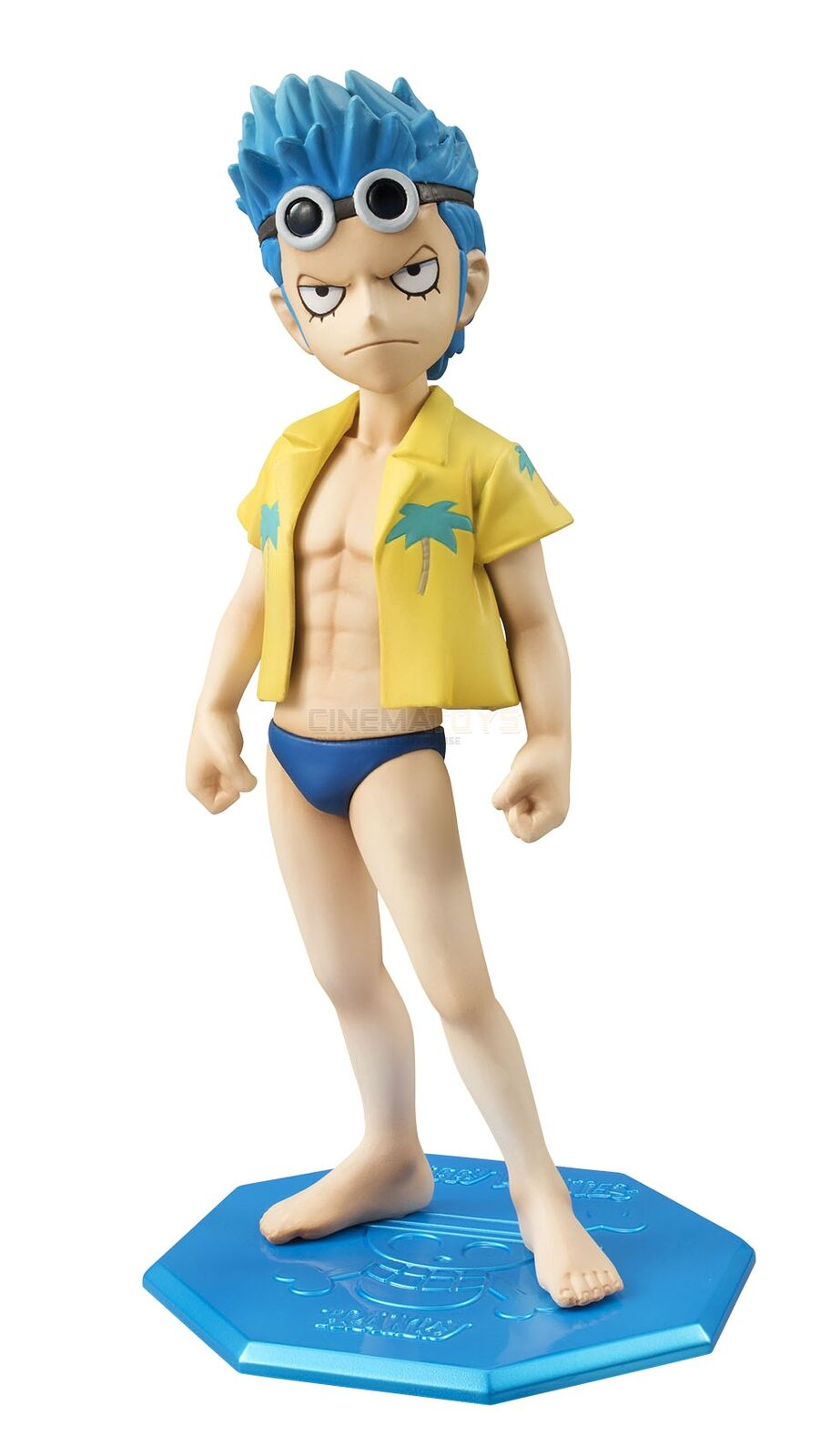 Megahouse Megahouse Megahouse Excellent Model Mild Serie Portrait of Pirates One Piece Cb-R3 Franky 667cae