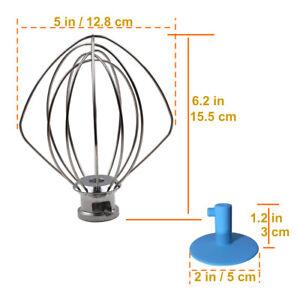 6-Wire-Whip-4-5-QT-for-KitchenAid-K45WW-WP9704329-KSM150-KSM160-K45-KSM90-KSM100