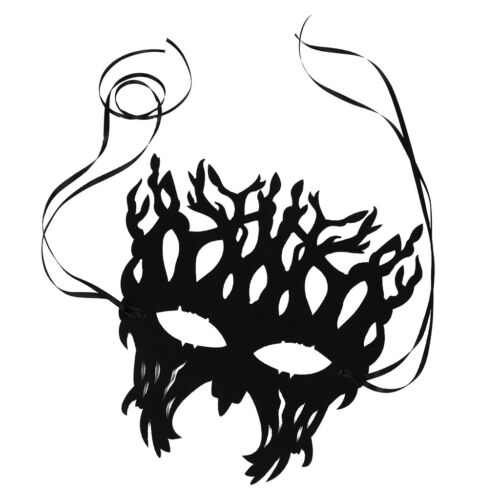 Women Trendy Cool Tree Mask Felt Cloth Halloween Party Cosplay Accessories
